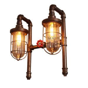 Lamp Loft Light Vintage Pipe Wall