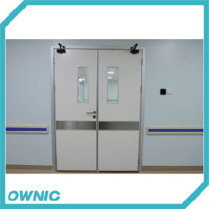 Manual Swing Double Open Door with Door Closer pictures & photos