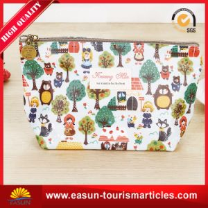 Custom Travel Storage Fabric Cosmetic Bags Wholesale pictures & photos