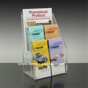 Custom Clear Acrylic Sign Holders pictures & photos