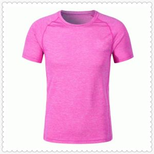 Cationic V Neck Cool Dry Running Sports T Shirts