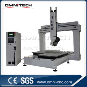 4 Axis Wood CNC Router Machine for Engraving Cutting