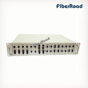 "19"" Managed Media Converter Chasis with 16-Slot Rack Mount"