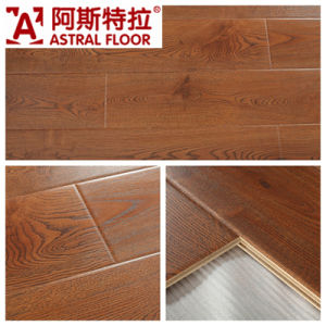 Mirror Surface (U Groove) Laminate Flooring (AS1036) pictures & photos