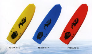 "Quality XPE Surfboard 78"" with Plain Colors pictures & photos"