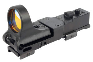 C-More Style Red DOT Sight Railway Reflex for Ris Rail