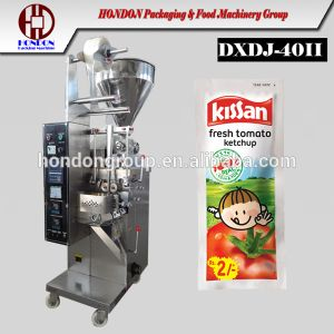 Full Automatic Tomato Sauces Sachet Packaging Machine (J-40II) pictures & photos