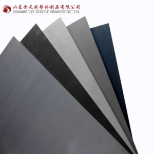 Grey, White and Black Extruded PVC Hard Sheet Manufacture pictures & photos