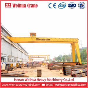 Small Mini Electric Motor Driven Electric Hoist Semi Gantry Crane pictures & photos