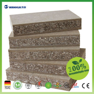 Mdi Resin Used Eco-Board Formaldehyde Free Plain Particle Board Furniture Board