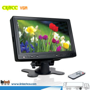 7 Inch VGA Monitor Digital LCD Monitor