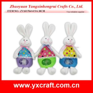 Easter Decoration (ZY16Y764-4-5-6) Rabbit Easter Product Candy Bag Item pictures & photos