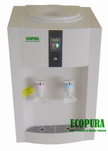 Compressor Cooling Desktop Water Dispenser with VFD Digital Display pictures & photos