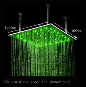 Best Seller 1meter 100*100cm LED Light Shower Head