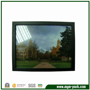 Black Wooden Picture Frame with Thin Frame Strips pictures & photos