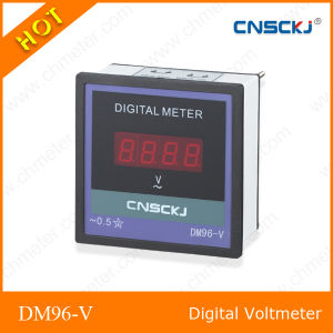 Single Phase LED Display AC10-600V Digital Voltmeter