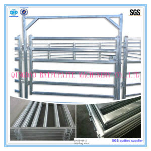 Galvanized Cattle Steel Pipe Guard Panel