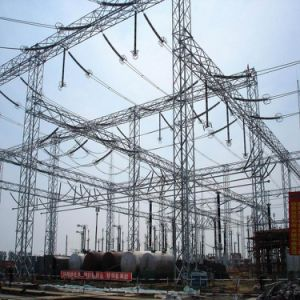 Substation Steel Structure Foundation pictures & photos