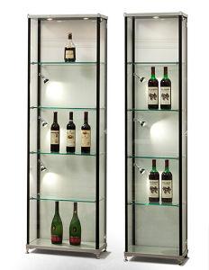 Portable Exhibition Cabinet : China aluminum portable exhibition display cabinet for wine