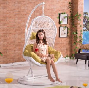 Outdoor Furniture Patio Swing Wicker / Rattan Swing /Outdoor Rattan Adult Hanging Egg Swing Chair D013A pictures & photos