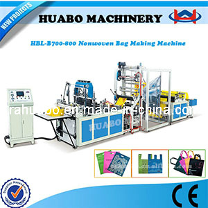 Nonwoven Fabric Bag Making Machine (HBL-B 600/700/800) pictures & photos