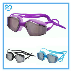 Myopia Silicone Unisex Safety Glasses Swimming Goggles pictures & photos