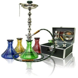Bontek Factory Price Hookah for Smoking with 4 Colors Vase pictures & photos