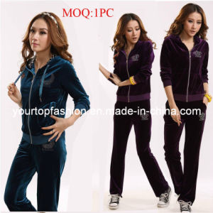 16bc0f292 China Ladies Sports Wear, Velvet Sports Tracksuits for Women ...