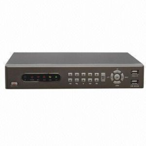 Security DVR with H. 264 Compression and Motion Detection Function