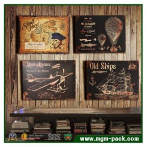 Antique Style Art Wall Wood Painting pictures & photos