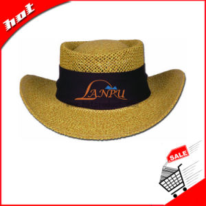 Cowboy Paper Straw Hat Promotional Hat pictures & photos