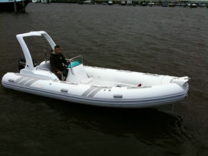 Canto 5.8m 19FT Good Quality Rib Boat Fiberglass Boat with Ce Cert. PVC Material or Hypalon on Sale pictures & photos