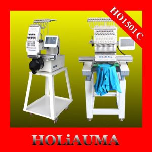 Holiauma New Single Head Embroidery Machine Prices with 15 Colors pictures & photos