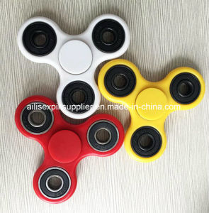 Hot ABS Plastic Custom Bearing Fidget Spinner Toy Aluminum Alloy&Copper Hand Fidget Spinner pictures & photos