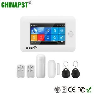Big Promotion Price WiFi GSM Home Security Alarm System with Touch Screen (PST-WG106)