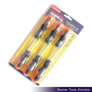 6PCS Screwdriver (phillips&slotted) for Furniture Hardware (T02200)