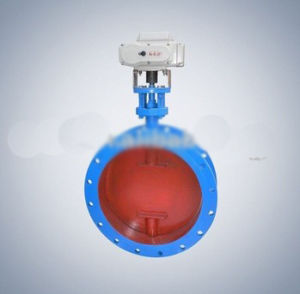 API Electric Areation Butterfly Valve Hl-10 pictures & photos