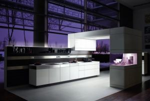 High Gloss Polymer Acrylic Mdf For German Kitchen Cabinet Door
