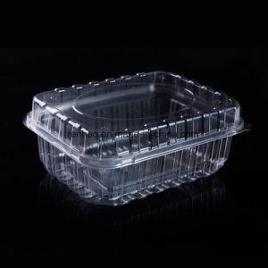 China Food Grade Hot Selling Clear Plastic Food Container With Lid