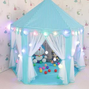 Large Indoor And Outdoor Kids Play House Hexagon Princess Castle Kids Play  Tent Child Play Tent, Various Colors