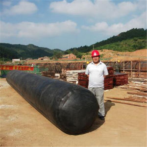 Inflatable Rubber Culvert Balloon with Vaulted and Trapezoidal Shape pictures & photos