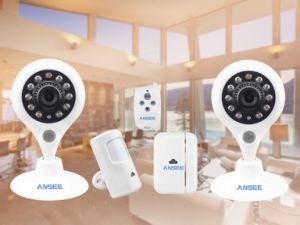 Smart Home Surveillance Kit for Security System Two Cameras