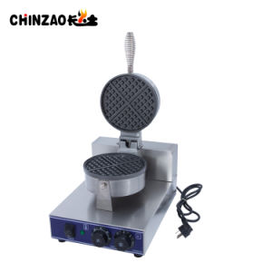 Single Head Stainless Steel Commercial Electric Waffle Machine pictures & photos