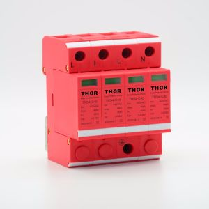 40ka 385V Surge Arrester Lightning Arrester Surge Protector for CE pictures & photos