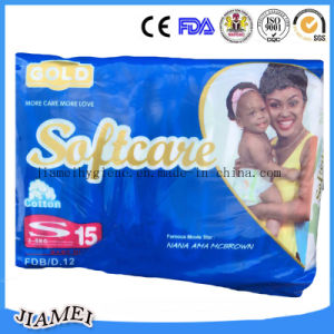 Kenya Softcare Quick Absorbent Baby Diaper with Soft Surface pictures & photos
