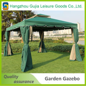 High Quality Durable Windproof Double Roof Red Garden Tent for Wedding