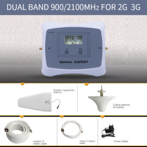 New Dual Band 900/2100MHz 2g 3G Dcs Mobile Signal Booster pictures & photos