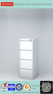 Steel Lateral Filing Cabinet with Japanese Galvanized Steel and Epoxy Powder Coating Finish for Italy Market