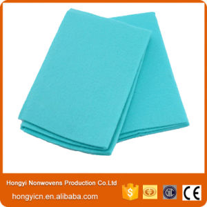 Blue Needle Punched Non-Woven Fabric Towel, All Purpose Cleaning Cloth