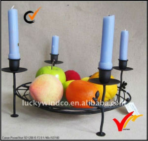 Wholesales Vintage Antique Handmade Floor Standing Metal Candle Holder pictures & photos